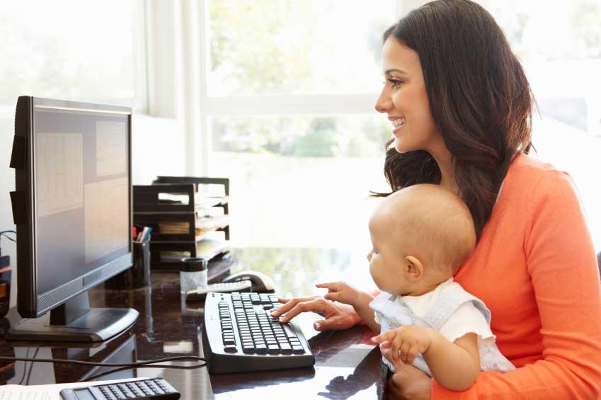 ایده کسب و کار آنلاین در خانه